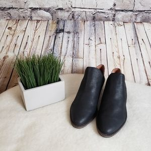 Lucky Brand Low Ankle Leather Boots